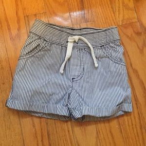 Carter's striped shorts 3T
